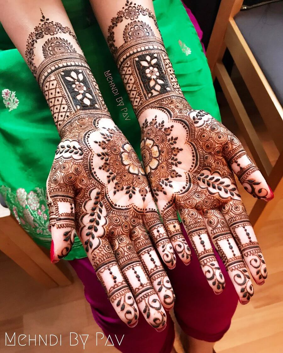 20 Best Mehndi Designs For Front Hands Health Tips Healthy Life Ideas