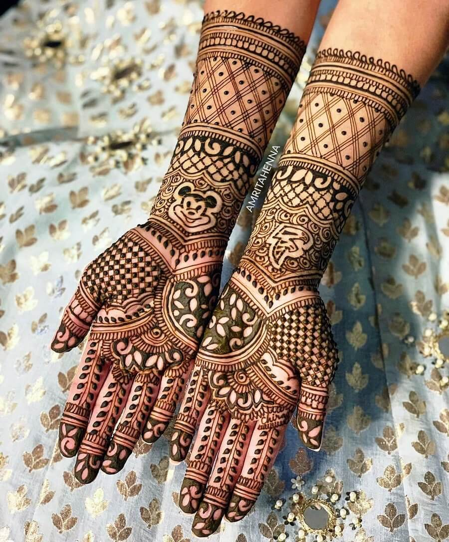 Best Mehndi Designs for Full Hands , Beauty Fashion Club