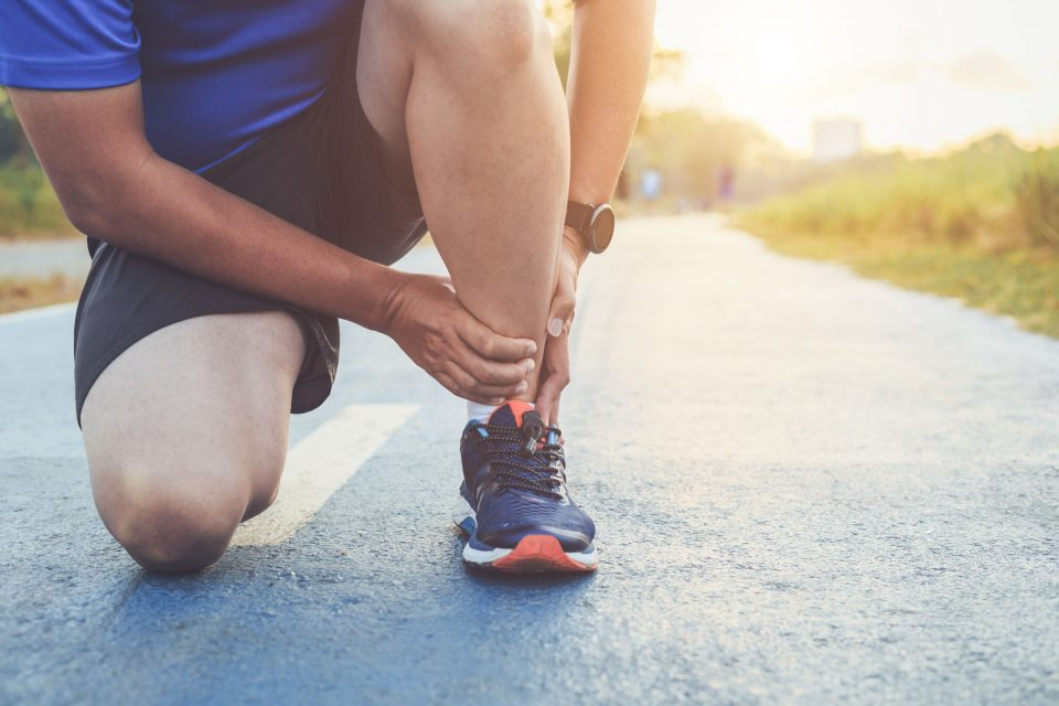 treat muscle aches and pains after a run