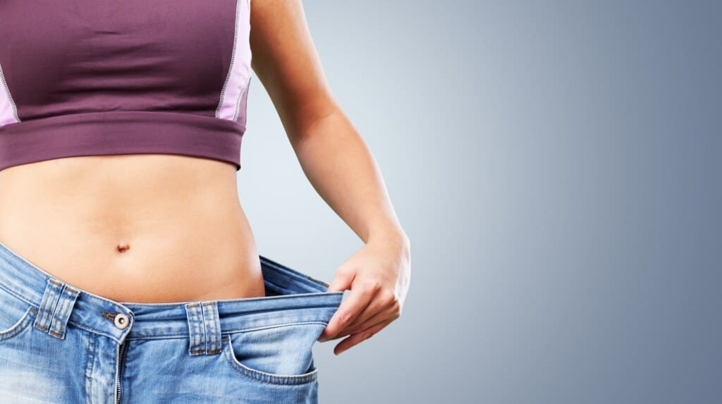 Weight loss with PCOS